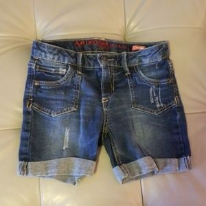 Arizona jeans mid-thigh shorts. Sz 12